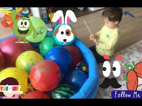 pop şarlar balonları patlatıyoruz We're popping the balloons