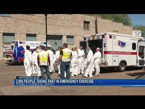 Pueblo Chemical Depot to hold emergency exercises today