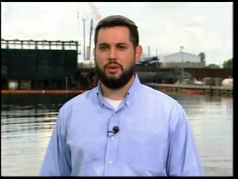 Rabbi Uri Topolosky on MSNBC about  Hurricane Katrina