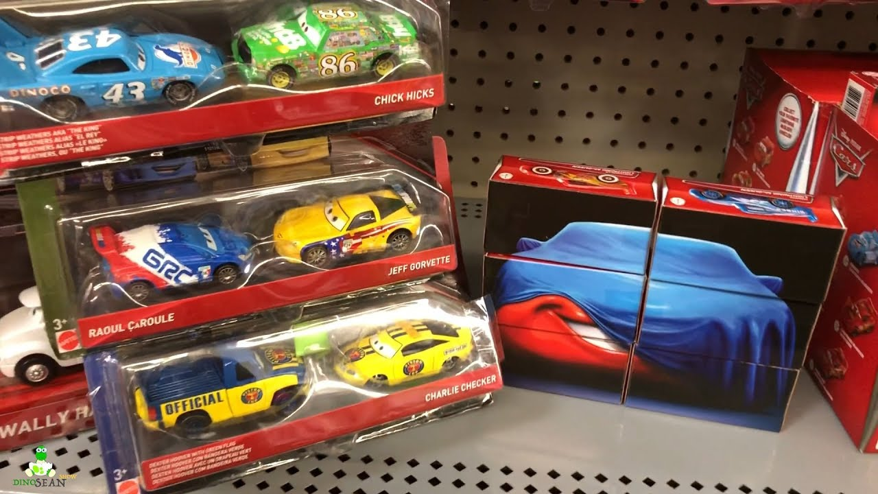 Toy Cars At Walmart : New disney cars toys walmart toy hunt pack diecast