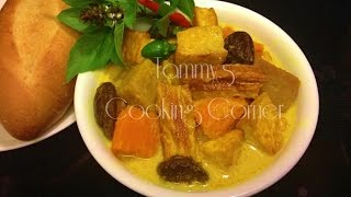 Ca Ri Chay - learn how to make A supper delicious Vegetarian Curry ...