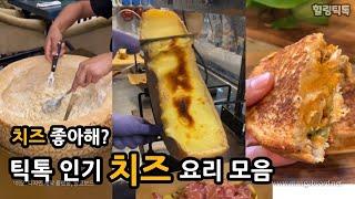 [힐링틱톡] 틱톡 인기 치즈 요리 모음