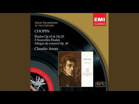 claudio arrau 3 nouvelles etudes op posth pur la méthode des méthodes de moscheles 2007 digital remaster no 2 in d flat major