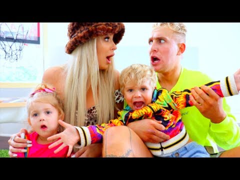 WE BECAME PARENTS FOR 24 HOURS (ft. daddy Jake Paul)