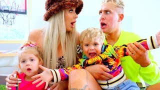 Download WE BECAME PARENTS FOR 24 HOURS (ft. daddy Jake Paul) Mp3 and Videos