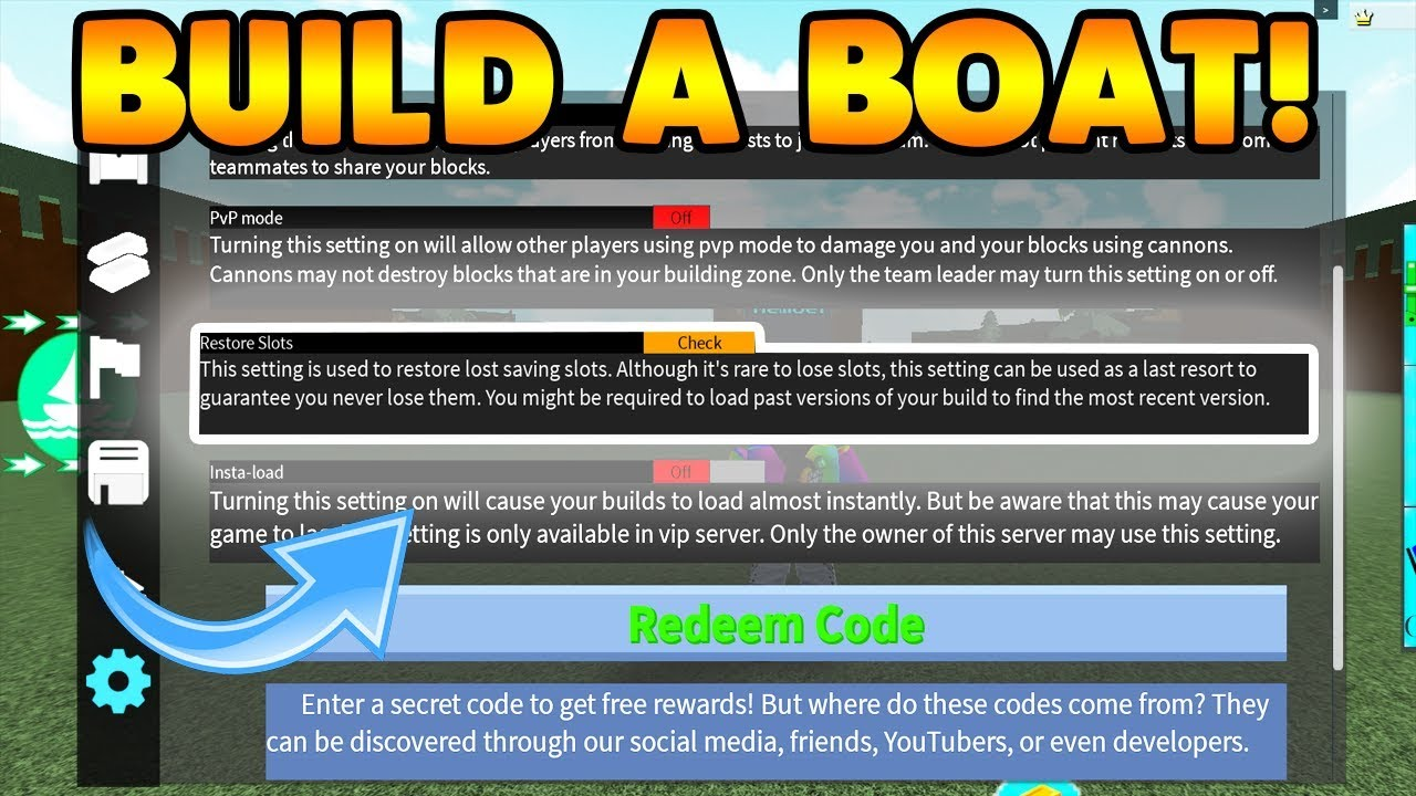 Roblox Build A Boat For Treasure Free Vip Server How To Get Free