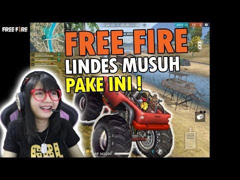 BAR BAR LINDES MUSUH PAKE MOBIL !? - FREE FIRE INDONESIA