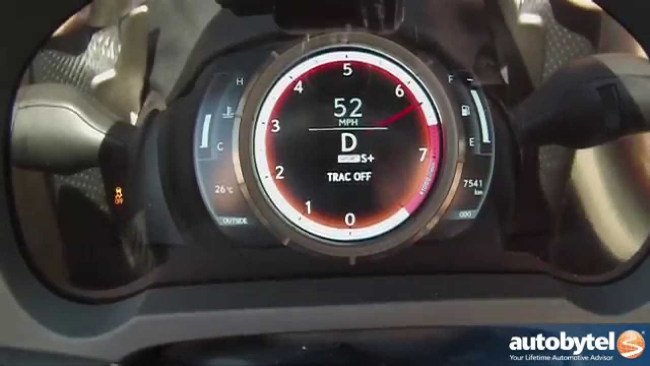2014 Lexus IS 350 F Sport 060 MPH Test Video  306 Horsepower V6