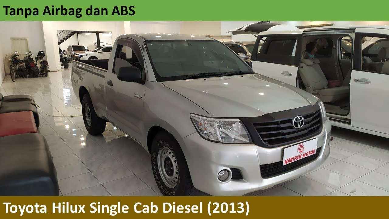 Toyota Hilux Diesel Truck >> Toyota Hilux Single Cab Diesel 2013 Review Indonesia