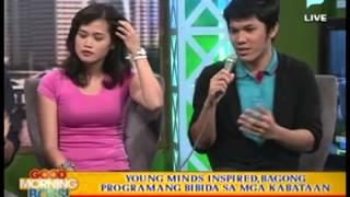 Young Minds Inspired, bagong programang bibida sa mga kabataan