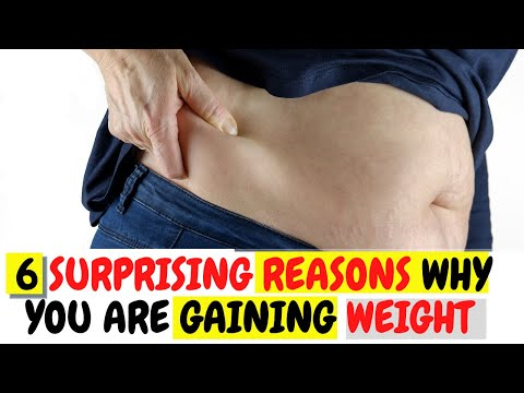 6 reasons for weight gain that are not diet related
