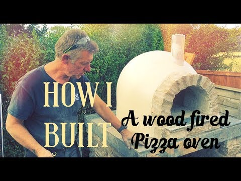 How I built my wood burning Pizza oven: part 3