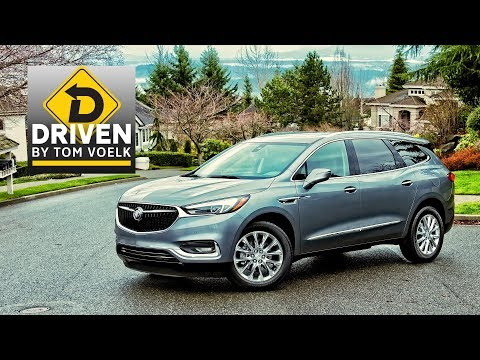 2018 Buick Enclave Premium AWD Review
