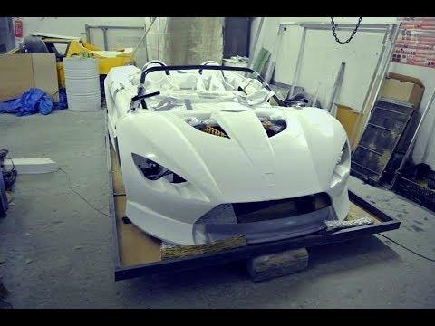 Supercar Build K-1 Attack (B-Racing) Kit Car Assembly