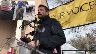 Mayor Javier Gonzales - Women's March On Washington Santa Fe