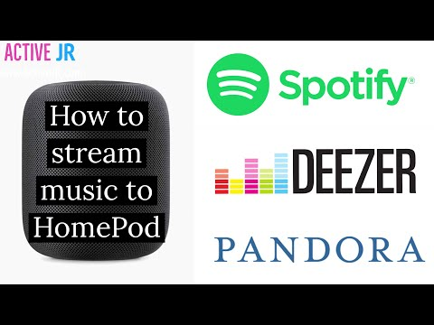 How To Stream Music To HomePod From Spotify, Pandora, Deezer Via AirPlay
