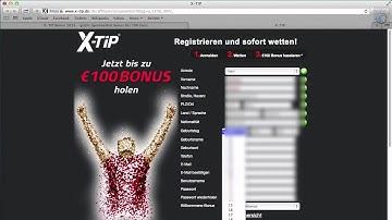 X-TiP Bonus für Neukunden