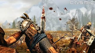 SKYRIM BATTLE #2 - 1000 Imperial VS. 1000 Stormcloak