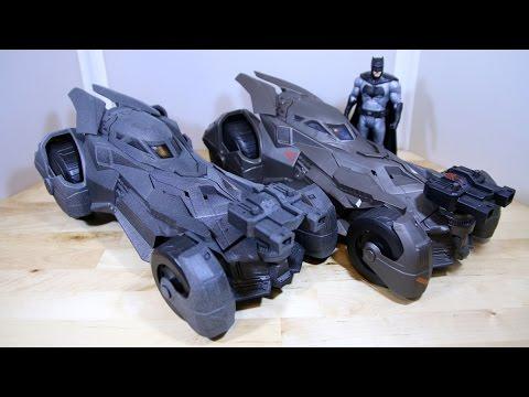 Batman V Superman Epic Strike Batmobile Review
