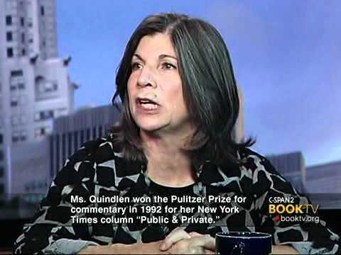 Book TV In Depth: Anna Quindlen
