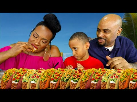 PHILLY CHEESE STEAK TACOS WITH BOOGIE MUKBANG!