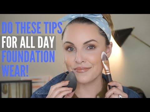 THIS IS WHY YOUR FOUNDATION WON'T LAST!! || Long-lasting Foundation Tips thumbnail