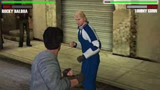 Rocky Balboa - PSP (PPSSPP) Rocky Balboa vs Tommy Gunn - Historical Fight