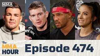 The MMA Hour: Episode 474 (w/ Kevin Lee, Stephen Thompson, Maycee Barber, Jack Marshman)