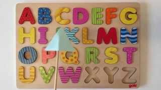 ABC Buchstaben lernen für Kinder