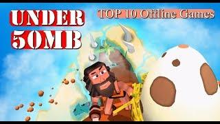 Dibawah 50MB - Top 10 OFFLINE Games Android n IOS