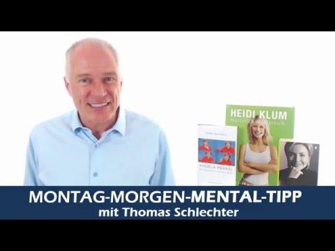 """Mental-Tipp """"selbstbewusst sein wie Angela Merkel, Hillary Clinton und Heidi Klum"""""""