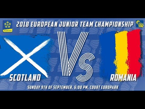 Scotland vs Romania - Day 3 - 2018 European Jnr. Team C'ships