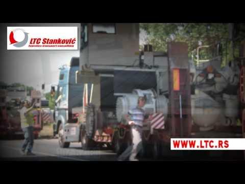 Heavy load transport Serbia