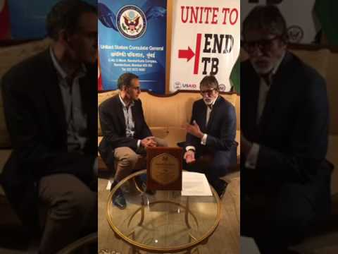 Amitabh Bachchan Live Interview With Ambassador Of United States of America - Padma Shri Award 2017