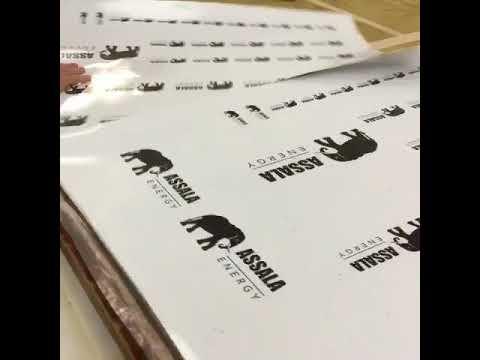 Screen Printing Bespoke Stickers