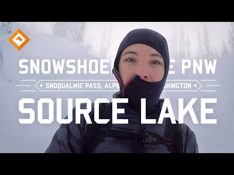 Snowshoeing Washington – Source Lake