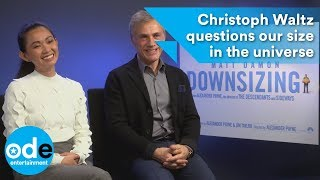 Downsizing: Christoph Waltz questions our size in the universe