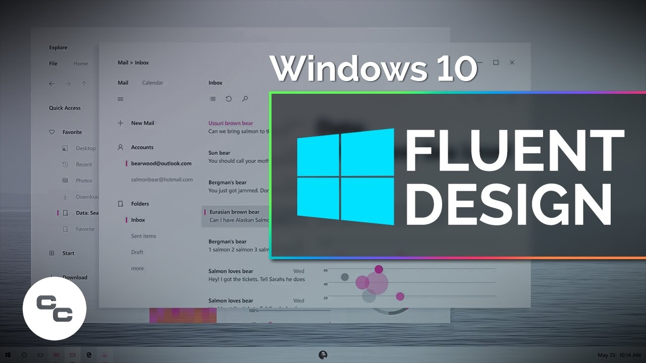 Windows 10 pro review should you upgrade youtube - Microsoft Fluent Design System Picked Apart Windows 10 Fall Creators Update