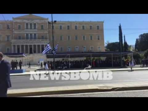 newsbomb.gr: Στιγμές από την παρέλαση της 25ης Μαρτίου