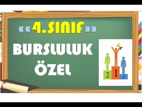 4.Sınıf Matematik Bursluluk Sınavlarına Hazırlık-Yardımcı Öğretmen