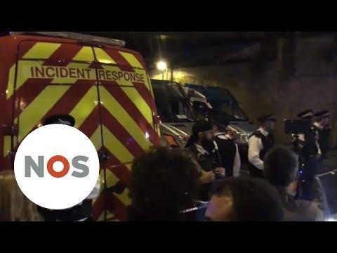 LONDEN: Terroristische aanslag met bestelbus op moskeegangers