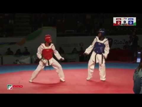 Preolimpico Panamericano Rio2016 Semifinal 58kg COL vs ECU