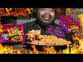 ☆4X Spicy Mala Fire Noodles Challenge☆!!!ALL 5 Packs