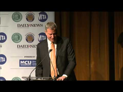 Mayor Bill de Blasio Delivers Remarks at the Annual Hometown Heroes Event