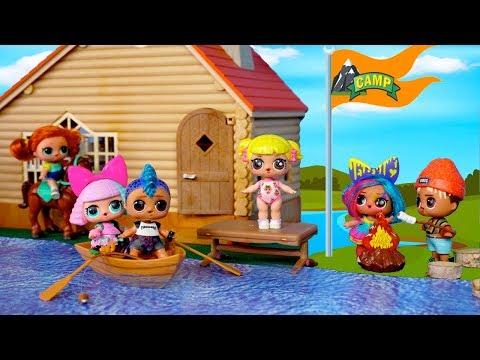 LOL Dolls Summer Camp Adventures - Baby Goldie & Punk Boi