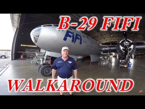 B-29 Superfortress FIFI Walkaround
