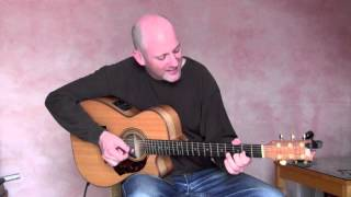 """Got To Get You Into My Life"" - Adam Rafferty -  Beatles Solo Fingerstyle Guitar"