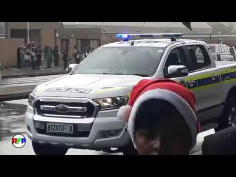 Mimosa Mall Bloemfontein burning 08/12/2017