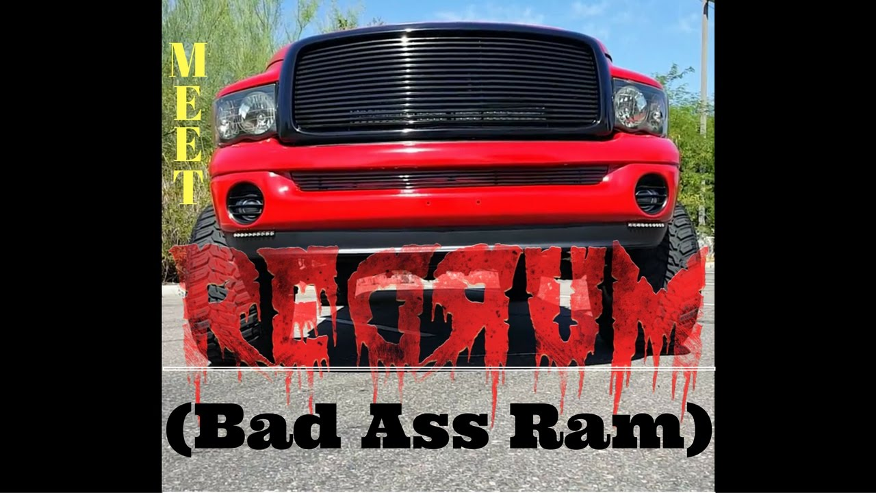 Meet Redrum Custom 3rd Gen Lifted Dodge Ram 1500 Truck New 7 Front