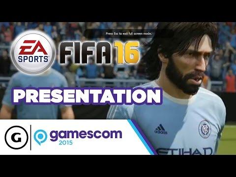 FIFA 16 Stage Show - Gamescom 2015